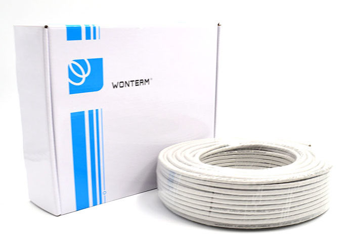 50m unshielded Cat5e UTP Cable , Indoor cat5e networking cable PVC jacket